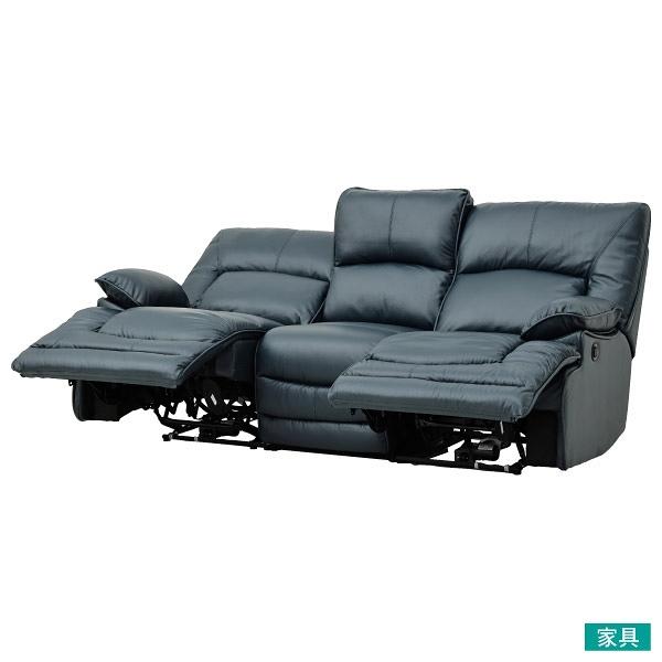 ◎半皮3人用電動可躺式沙發 HIT NV NITORI宜得利家居