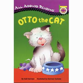 【汪培珽書單】〈All Aboard Reading系列:Picture Reader 〉OTTO THE CAT