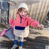 女童衛衣冬裝新款韓版兒童加厚洋氣冬季童裝羊羔毛上衣潮促銷好物