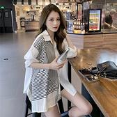 長袖襯衫 713#不規則少女穿搭襯衫高級感氣質MB144.一號公館