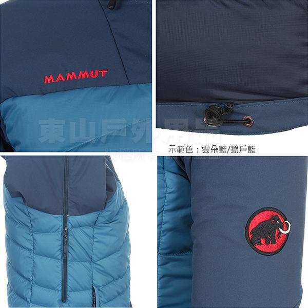 Mammut長毛象 1010-19690-4599蘆綠/樹棕 男防風羽絨保暖外套 BELAY Hybrid Insulation