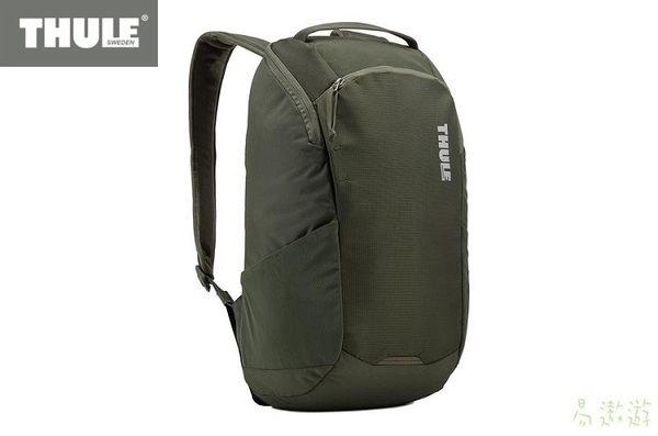 Thule 瑞典 筆記型電腦背包 EnRoute 14L 軍綠 3203588 旅行背包 休閒背包 健行背包 [易遨遊]