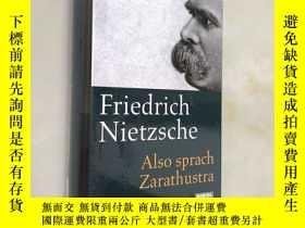 二手書博民逛書店Also罕見sprach Zarathustra 查拉圖斯特拉如是說德語版 尼采 德文原版Y71035 fri
