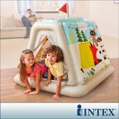 【INTEX】幼童款-室內帳篷/充氣式遊戲帳篷(48634)