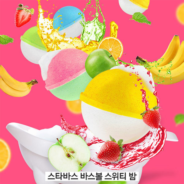韓國 STARBATH 碳酸沐浴球(100g)【庫奇小舖】