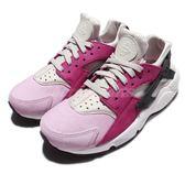 【六折特賣】Nike 武士鞋 Wmns Air Huarache Run PRM 紫 灰 粉色 白底 運動鞋 女鞋【PUMP306】 683818-006