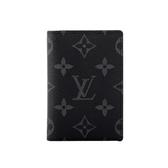 【LV】 monogram名片/卡夾(黑灰) M61696 LV27000029