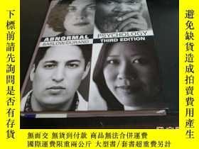 二手書博民逛書店英文原版:ABNORMAL罕見PSYCHOLOGY(有CD)Y2