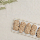 白芝麻麻荖 當地芋頭所做內心 天然健康 零食聊天首選   好事來花生出品