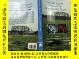 二手書博民逛書店Microbiological罕見Methods for Assessing Soil QualityY383