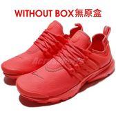 【US10-NG出清】Nike 魚骨鞋 Wmns Air Presto PRM 全新無原盒 全紅 橘紅色 女鞋 【PUMP306】