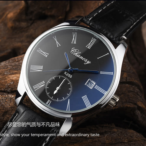 手錶男士皮帶情侶錶一對防水學生錶 免運快速出貨
