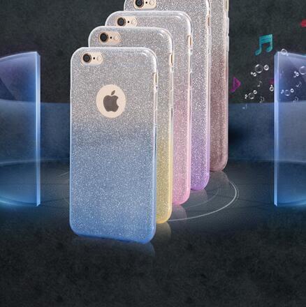【SZ93】HTC Desire 530手機殼 漸變閃粉TPU 530手機殼 Desire 530 手機殼