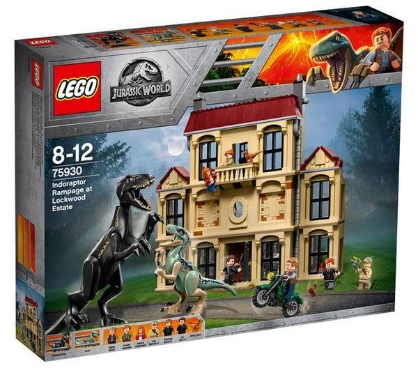 樂高LEGO 電影 侏羅紀世界 殞落國度 混血恐龍Indoraptor 亂鬧洛克伍德的房子 75930 TOYeGO 玩具e哥