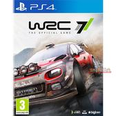 PS4 WRC 7 世界越野冠軍賽7 -中文亞版- 國際汽車聯合會 世界汽車拉力錦標賽7