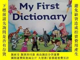 二手書博民逛書店Collins罕見My First Dictionary 柯林斯我的第一本詞典 英文原版Y11897 Coll