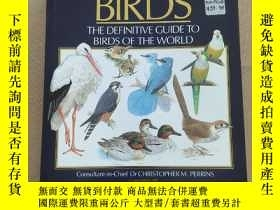 二手書博民逛書店THE罕見ILLUSTRATED ENCYCLOPEDIA OF BIRDS:THE DEFINITIVE GUI