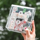 韓國ins風透明PVC纏繞線收納包袋網紅手帳膠帶貼紙手賬便攜小筆袋 黛尼時尚精品