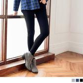 OB嚴選《BA2126-》素色高腰排釦設計修身窄管褲.3色--適 S~XL