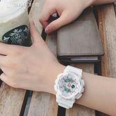 潮流ulzzang手錶男女學生正韓簡約休閒大氣電子錶數字式運動防水 【創時代3c館】