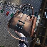 大包包女包2021新款潮網紅百搭斜背包時尚高級感側背包手提水桶包 韓國時尚週