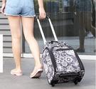 旅行包迷你小行李袋大容量手提箱拉桿男女可...