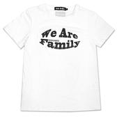 Black & White Voice T-shirt-我們這家(White)