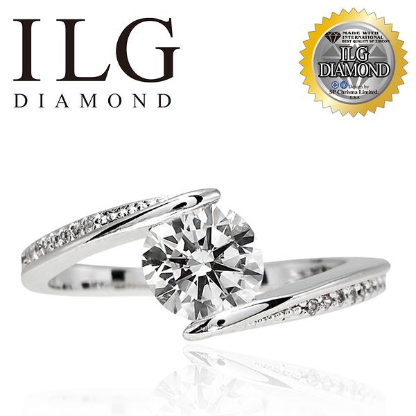 【ILG鑽】Beginner 美好初衷 0.75克拉-頂級美國ILG鑽飾,媲美真鑽亮度的鑽飾 RiP36