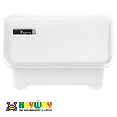 KEYWAY 直取式收納箱 20L 白色 型號BQ-521