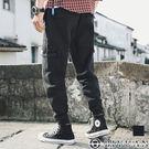 【OBIYUAN】翻蓋 大口袋 修身 抽...