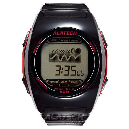 大毛生活館●ALATECH FB005B 專業健身 心率錶 – 黑色