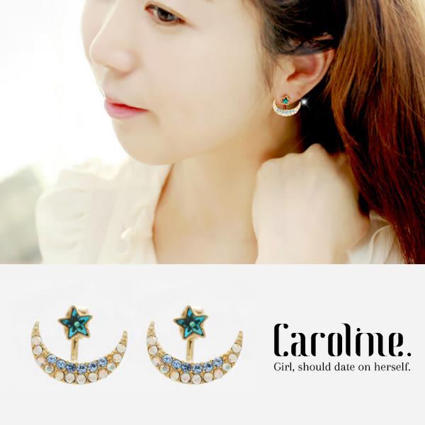 《Caroline》★韓國時尚設計款優雅浪漫風格時尚流行耳環68883