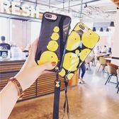 小黃雞卡通掛繩 蘋果6手機殼 BS21614『夢幻家居』