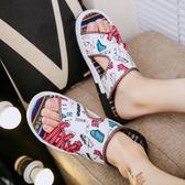 拖鞋男夏季新款防滑軟底外穿涼鞋一字拖沙灘鞋夏天    傑克型男館