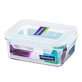 大廚師百貨-Glass Lock強化玻璃保鮮盒1100ml長方型密封盒RP518便當盒副食品保存盒