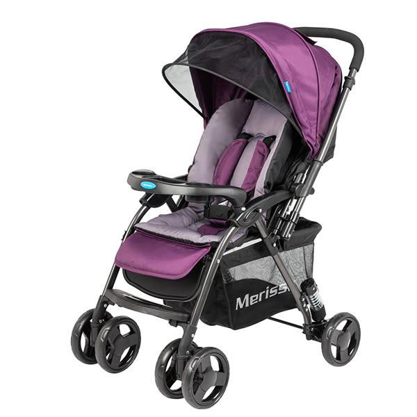 Merissa 美瑞莎 LT-3R Plus 雙向嬰兒手推車-石岩紫【佳兒園婦幼館】