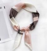 小方巾絲巾女裝飾領巾防曬圍巾