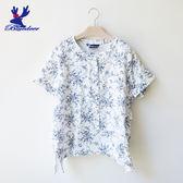 American Bluedeer-印花開襟襯衫