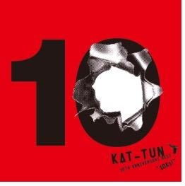 KAT-TUN 10TH ANNIVERSARY BEST 10Ks CD 三片裝 期間限定版1 (音樂影片購)