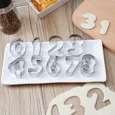 銹鋼數字餅幹模具LVV3514【KIKIKOKO】