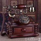 復古電話 高檔實木電話仿古電話機復古歐式電話機時尚創意古董家用辦公座機 爾碩LX