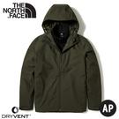 【The North Face 男 DV兩件式防水保暖外套《軍綠/黑》】4R2H/衝鋒衣/防水外套/風雨衣