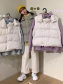 秋裝新款小清新甜美寬鬆無袖背心馬甲外套女裝學生時尚兩件套 雅楓居