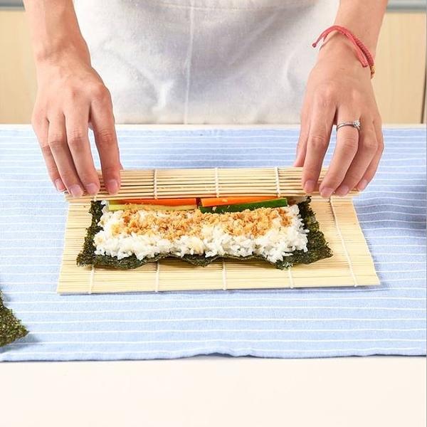 [拉拉百貨]壽司竹捲簾 壽司簾 海苔飯捲 紫菜包飯 飯糰 diy壽司工具 日本壽司料理必備天然竹捲簾