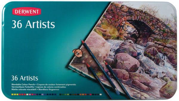 Derwent 達爾文 Artists系列36油性色鉛筆*32096