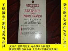 二手書博民逛書店writing罕見the research and term p