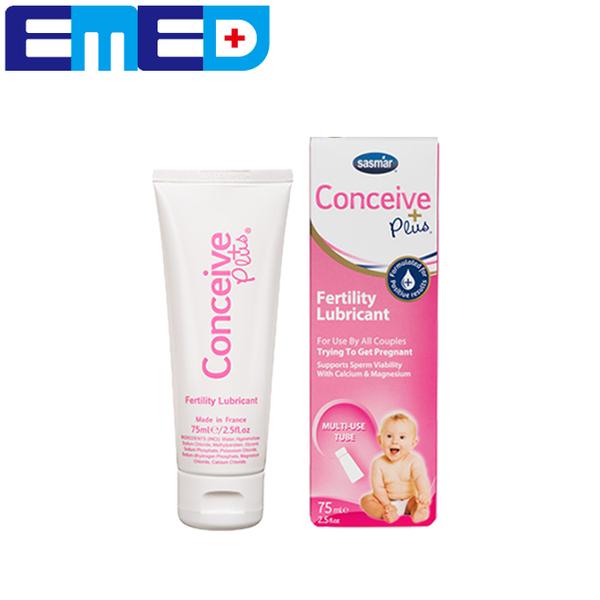 【法國 SASMAR】 Conceive Plus 備孕潤滑劑 75ML