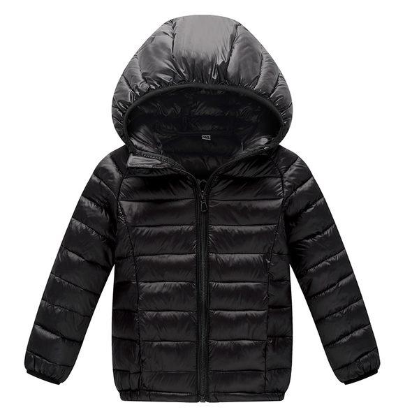 短款兒童輕薄羽絨棉服外套男童女童中大童小孩寶寶棉衣秋冬季棉襖