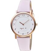 agnes b. 30週年紀念限定手錶 VJ20-KCW0P 粉紫