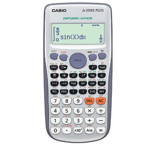 義大文具~CASIO卡西歐 FX-570ES PLUS 科學型計算機 / 台